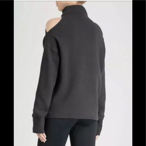 VARLEY Hampton Cold Shoulder Sweatshirt Medium